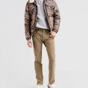 Levi's 511 Slim Mens Corduroy Pants Size 12